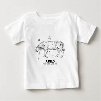 Aries (March 21st - April 19th) Baby T-Shirt