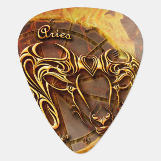 Aries March 21st until April 20th Horoscope Guitar Pick