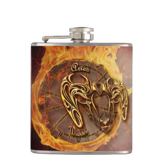 Aries March 21st until April 20th Horoscope Hip Flask