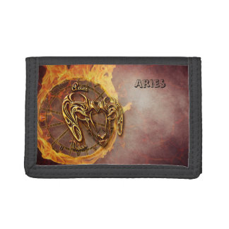Aries March 21st until April 20th Horoscope Tri-fold Wallet