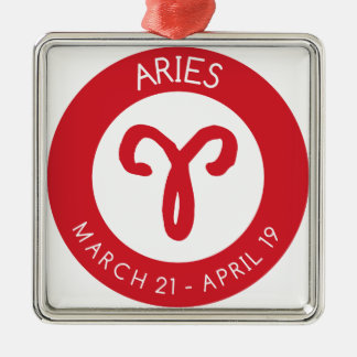 Aries Metal Ornament