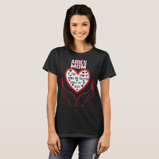 Aries Mom You Think My Hands Full See My Heart T-Shirt