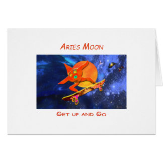 Aries Moon Card