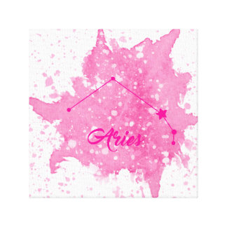 Aries Pink Wall Art