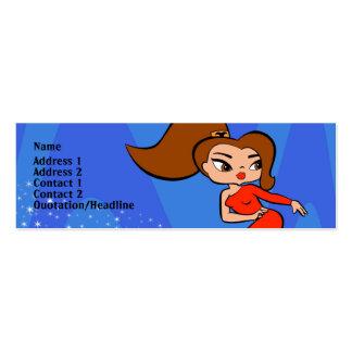 Aries Profile Card Mini Business Card