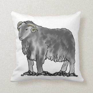 Aries Ram Herdwick Sheep Art Cushion