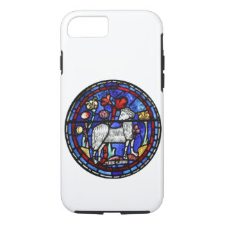 Aries Ram Sheep Year Stained Glass Chartres iPhone 7 Case