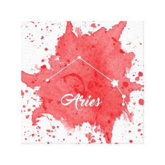 Aries Red Wall Art