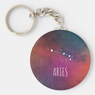 Aries Sign Constellation Keychain