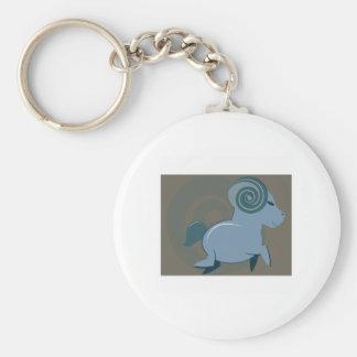 Aries Sign Keychains