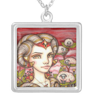 Aries Silver Plated Necklace