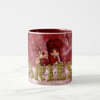 Aries Star Sign Birthday Mug