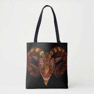 Aries Symbol Tote Bag