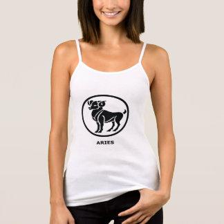 Aries Symbol Womens Tank Top