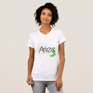 Aries Tee-shirt In White Gemstone Color T-Shirt