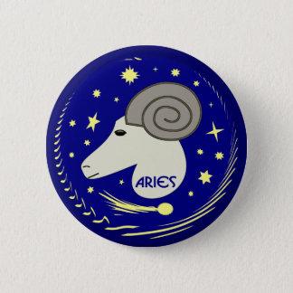 Aries the Ram 2 Inch Round Button