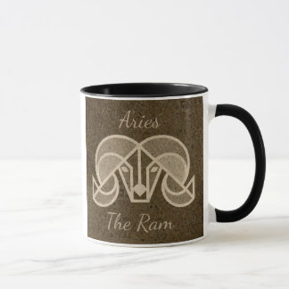 Aries, The Ram, Horoscope Sign Coffee Mug
