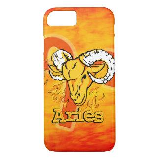 Aries The Ram zodiac fire sign iphone case
