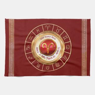 ARIES - The Ram Zodiac Sign Kitchen Towel