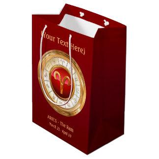 Aries - The Ram Zodiac Sign Medium Gift Bag