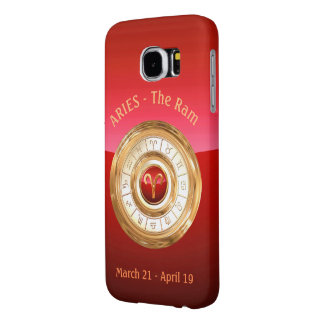 Aries - The Ram Zodiac Sign Samsung Galaxy S6 Cases