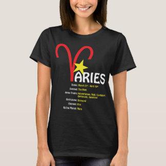 Aries Traits Ladies Dark T-Shirt