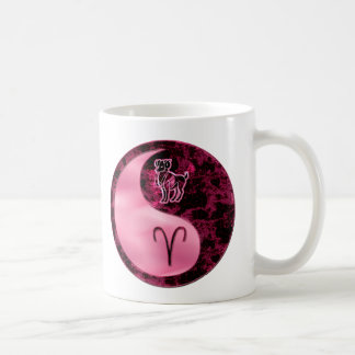 Aries Yin Yang Coffee Mug