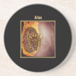 Aries Zodiac Astrology design Coaster