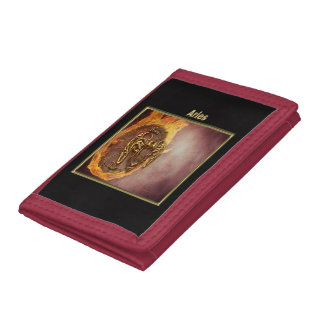 Aries Zodiac Astrology design Tri-fold Wallet