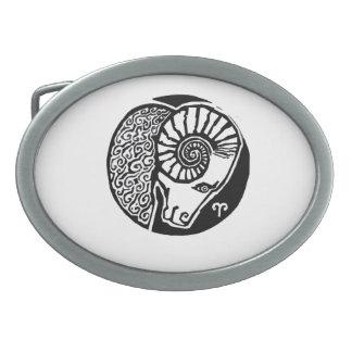 Aries - Zodiac Belt buckle