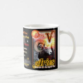 Aries Zodiac Cup or mug