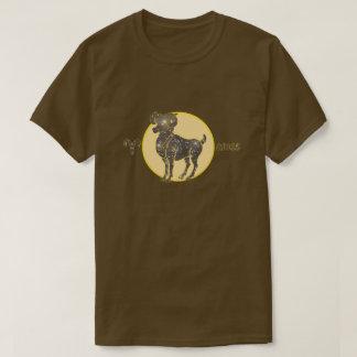 Aries Zodiac Diamond color Designer T-Shirt