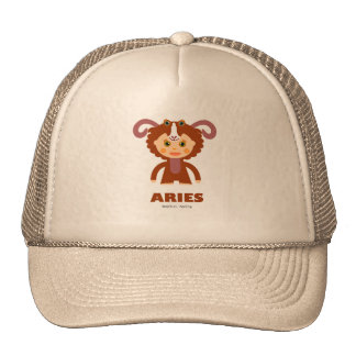 Aries Zodiac for Kids Trucker Hat