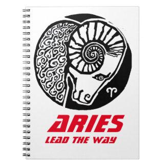 Aries - Zodiac Photo notebook