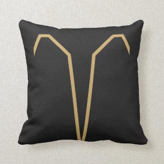 Aries Zodiac Sign Basic Throw Pillow