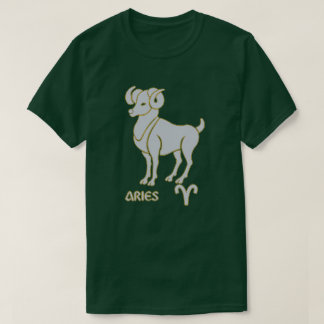 Aries Zodiac sign color Modern T-Shirt