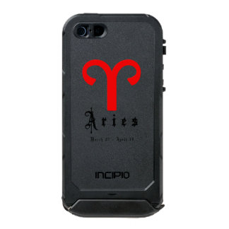 Aries zodiac sign incipio ATLAS ID™ iPhone 5 case