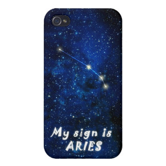 ARIES zodiac sign - iPhone 4 featured matte cover iPhone 4/4S Case