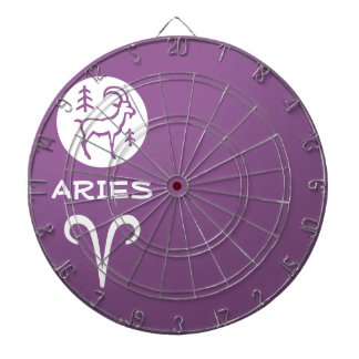 ARIES ZODIAC Symbol Dart Boards
