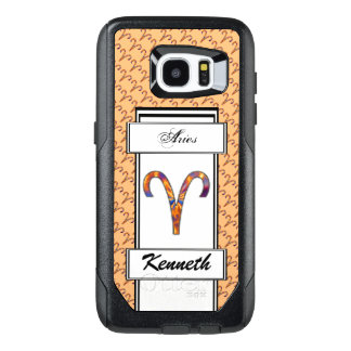 Aries Zodiac Symbol Element by Kenneth Yoncich OtterBox Samsung Galaxy S7 Edge Case