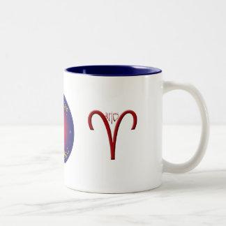 Aries Zodiac Symbol Mug