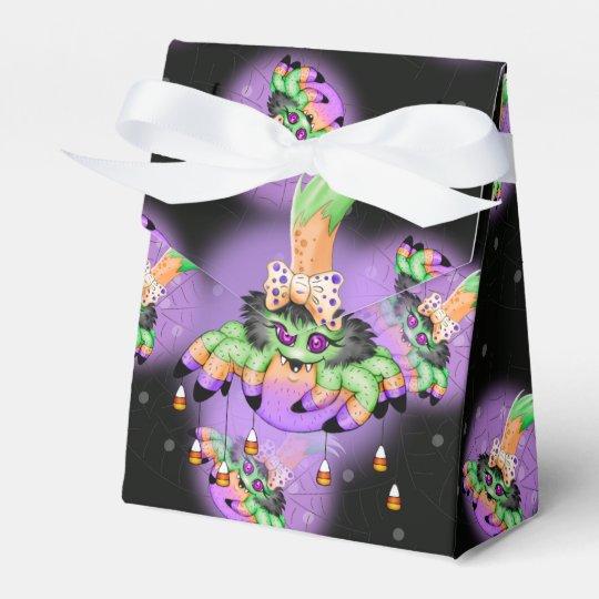 ARIETTE SPIDER HALLOWEEN  Tent  Ribbon Favour Box Favor Boxes