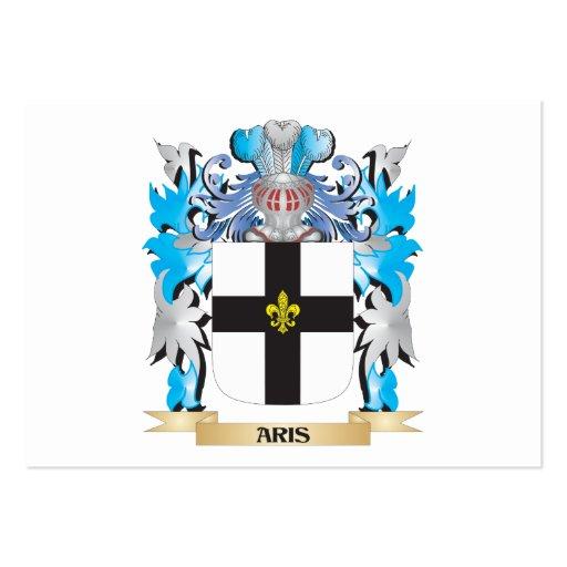Aris Coat Of Arms Business Card Template