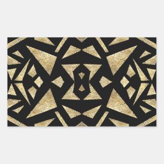 Ari's Gold and Black Sticker