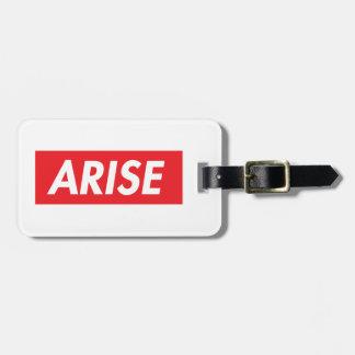 Arise Luggage Tag