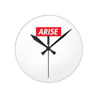 Arise Round Clock
