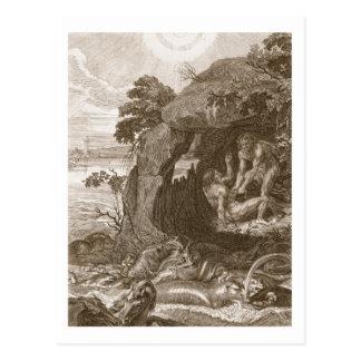 Aristeus Compels Proteus to Reveal his Oracles, 17 Postcard