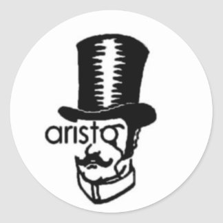 aristo classic round sticker