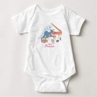 Aristocats at the Piano Baby Bodysuit