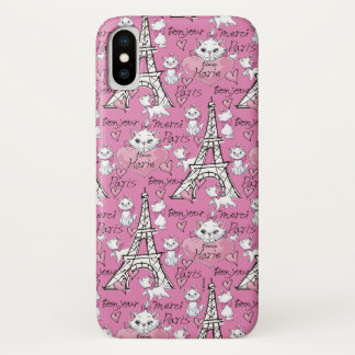 Aristocats   Marie Paris Pattern Case-Mate iPhone Case